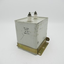 PLFU General Instrument Oil-filled Capacitor 10mf 2kvdc (Pull)