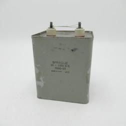 7030-53 Sprague Oil-filled Capacitor 15mfd 1kvdc (Pull)