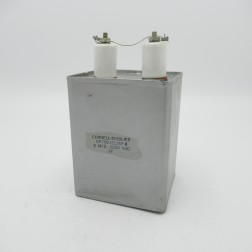CP70E1EL205K Cornell Dubilier Capacitor, 2mfd, 3kv DC. (Used, Excellent Condition)