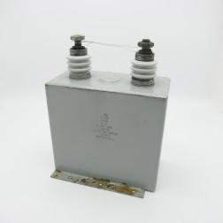 TKM207 1801428 Rev C Non-PCB Capacitor, 15mfd, 5kv DC. (Used, Great Condition)