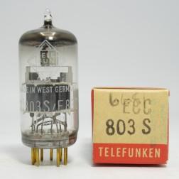 ECC803S / E83CC / 12AX7 Telefunken Gold Pin  High Mu Twin Triode (NOS) Made In West Germany. RARE.