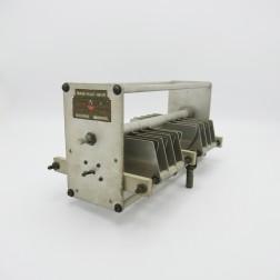 "152-207  Johnson Variable Capacitor, 50CD110, Dual Section 18-50pF,  11kv, 8 plates x 2, 0.35"" Spacing (Pull)"