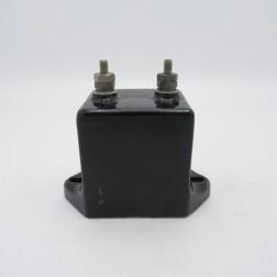 E1221 Sangamo Molded Mica Condenser 0.001mfd 12.5kv F3 Series (Pull)