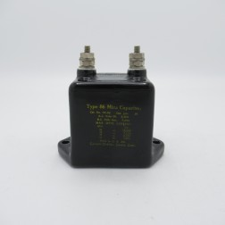 11C-86 Cornell Dubilier Type 86 Molded Mica Capacitor 0.01mfd 7kvdc (Used, Excellent Condition)