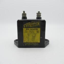 1996 Aerovox Molded Mica Capacitor 0.002mfd 12.5kvdc (Pull)