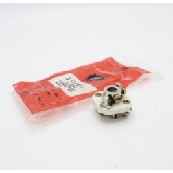 """39006 Millen Ceramic Shaft Coupler, Steatite, for 1/4"""" Shaft (New Old Stock)"""