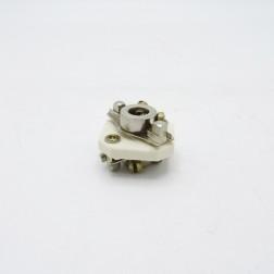 "39006  Millen Ceramic Shaft Coupler, Steatite, for 1/4"" Shaft (Used, Excellent Condition)"