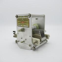153-2  EF Johnson Variable Capacitor, 14-99pf 3.5kv 0.080 gap 8 plates (NOS)