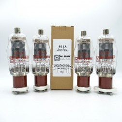 811A RF Parts Company (SELECT) Transmitter Tube, Matched Set of Four (4)