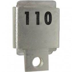 J101-110  Metal Cased Mica Capacitor, 110pf