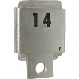 J101-14F  Metal Cased Mica Capacitor, 14pf