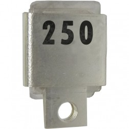 Metal Cased Mica Capacitor, 250pf, 500v, Unelco (J101-250A-5)