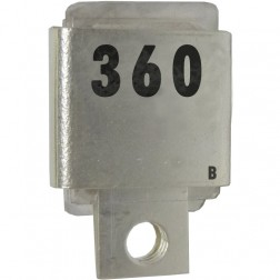 Metal Cased Mica Capacitor, 360pf, 350v, Unelco (J101-360B)