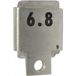Metal Cased Mica Capacitor, 6.8pf, 350v, Unelco/Semco (J101-6.8B)