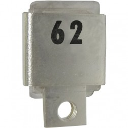 Metal Cased Mica Capacitor, 62pf, 350v, Unelco/Semco (J101-62A)