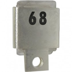 Metal Cased Mica Capacitor, 68pf, 350v, FW (J101-68A)