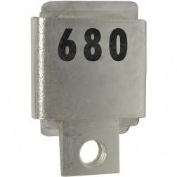 Metal Cased Mica Capacitor, 680pf, 350v, FW (J101-680A)