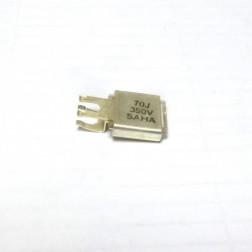 Metal Cased Mica Capacitor, 70pf, 350v, Saha (J101-70F)