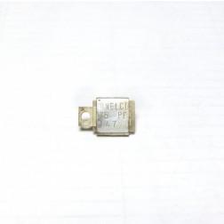 Metal Cased Mica Capacitor, 75pf, 350v, Semco (J101-75B)
