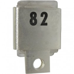 Metal Cased Mica Capacitor, 82pf, 350v, FW/Unelco (J101-82A)