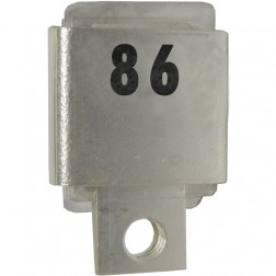 Metal Cased Mica Capacitor, 86pf, 350v, Unelco (J101-86A)