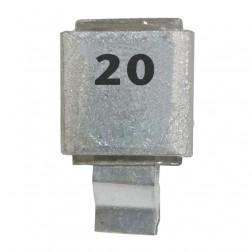 Metal Cased Mica Capacitor, 20pf, 250v, FW (J602-20)