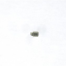 Metal Cased Mica Capacitor, 25 pf, 250v, Unelco (J602-25)