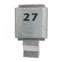 Metal Cased Mica Capacitor, 27pf, 250v, FW (J602-27)