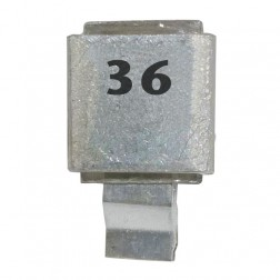 Metal Cased Mica Capacitor, 36pf, 250v, FW (J602-36)
