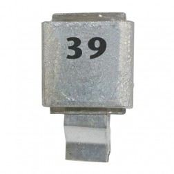 Metal Cased Mica Capacitor, 39pf, 250v, FW (J602-39)