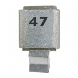 Metal Cased Mica Capacitor, 47pf, 250v, FW, (J602-47)