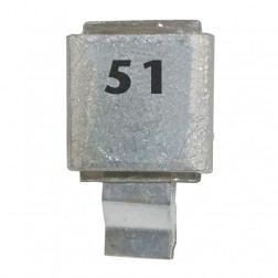 Metal Cased Mica Capacitor, 51pf, 250v, FW (J602-51)