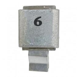 Metal Cased Mica Capacitor, 6pf, 250v, Semco (J602-6)