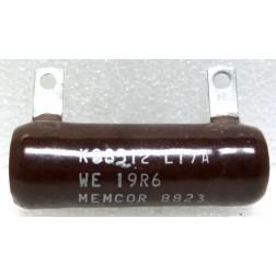 KS8512-19R6 Wirewound Resistor, 19.6 ohms 25 watts, Memcor