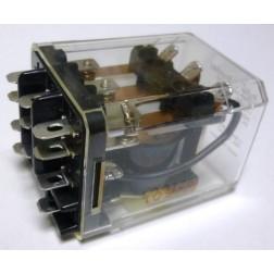KUMP-14D18-110; Relay, 3pdt, 15 a, enclosed Coil: 110 vdc, 10k ohms, P&B