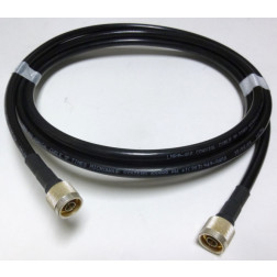 LMR400UF Cable Assembly, 4' with Amphenol Type-N Male Connectors (L400UFNMNM-4)