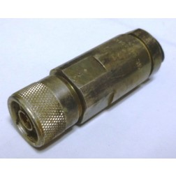 L44PW-P1 Type-N Male Connector, Cut from Cable with Pigtail (Clean Used)