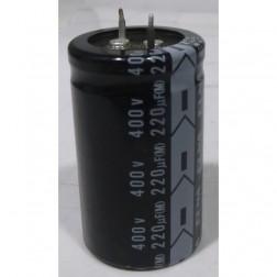 LGK2G221MHSA Snap Lock Capacitor, 220uf 400v, Nichicon