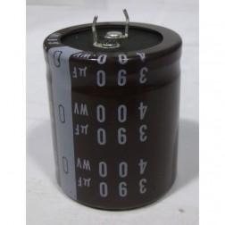 LLK3W390MHSB Snap Lock Capacitor, 390uf 400vdc, Nichicon
