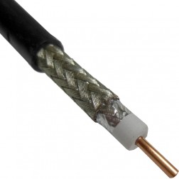 "LMR240DB Coax Cable, Direct Burial, 0.240"" Dia, 50 ohm,Times Microwave"
