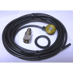 LPM-004  NMO Mount / Cable Assembly, 16 foot RG58 with NMO mount and PL259 Connector, Anteco