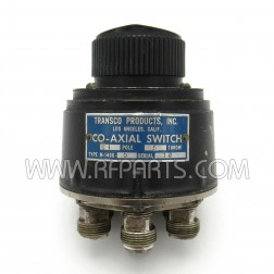 M-1460-5 Transco SP5T Co-Axial Switch (Pull)