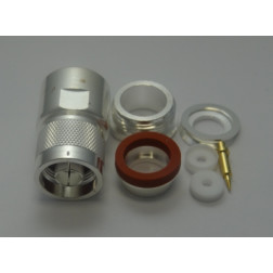 M39012/01-0015 Type-N Male Clamp Connector, RG217, Delta