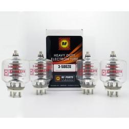 3-500ZG/3-500Z RF Parts Transmit Tube One Year Warranty Matched Quad (4)