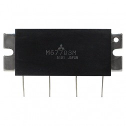 M67703M Power Module, 10w, 430-450 MHz, Mitsubishi