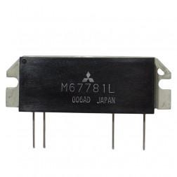 M67781L Power Module, 40w, 135-160 MHz, Mitsubishi