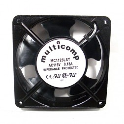 MC1123LST  Fan motor, 115vac, 0.13a, 76 cfm, Multicomp