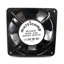 MC1123LST  Fan motor, 115vac, 0.13a, 76 cfm, Multicomp