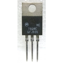 MC7809C 3-Terminal Positive Fixed Voltage Regulator, Motorola