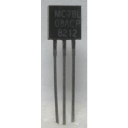 MC78L08ACP  Transistor, 100ma Positive Voltage Regulator